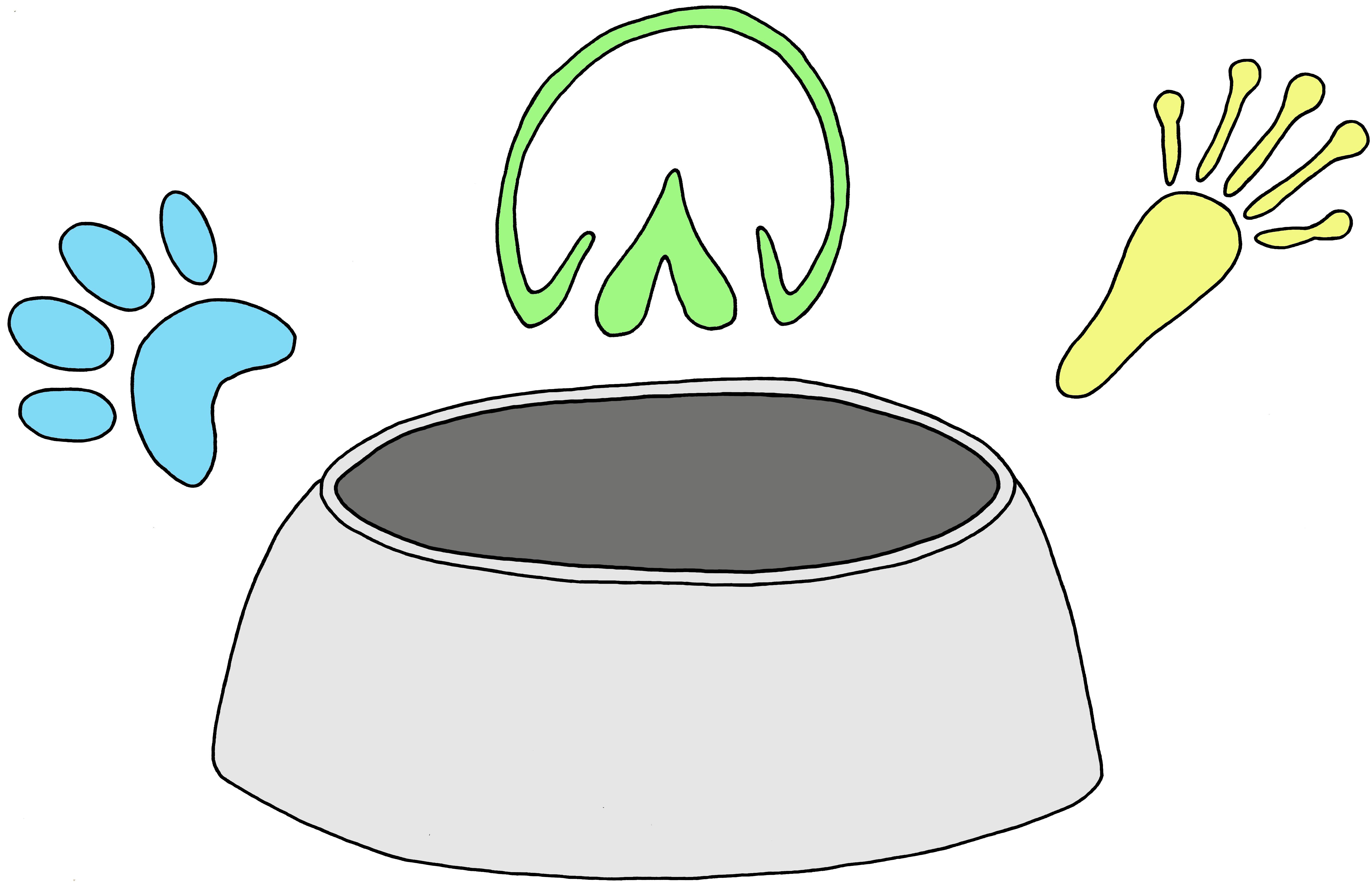 Kunterbunter Napf